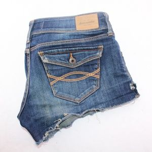 Abercrombie Youth Cutoff Denim Shorts size 16